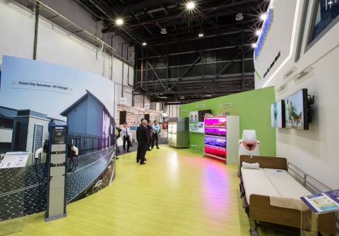 Panasonic showcases a spectacular product line-up in-sync with the concept of futuristic smart livin ...