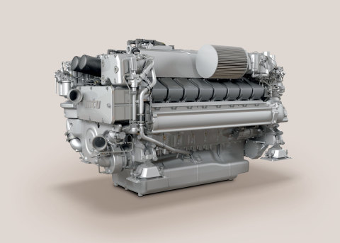 The new MTU 16V 2000 M96L from Rolls-Royce will make its North American debut at the 2014 Fort Lauderdale International Boat Show. (Photo: Business Wire)
