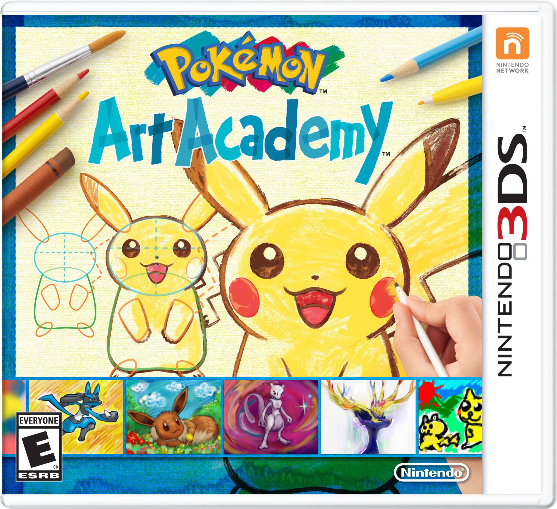 Uncategorized Pokemon Drawing Games learn to draw your favorite in art academy for nintendo 3ds business wire