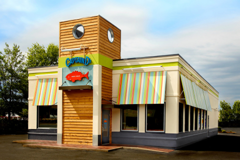 For a fresh business opportunity that provides industry-leading AUV growth, look no further than Captain D's (photo showcases new restaurant design). Since opening our doors in 1969, D's never stopped innovating and it has paid off. Today, with more than 520 restaurants nationwide and internationally, its proud to be America's favorite quick service destination for seafood. (Photo: Business Wire)