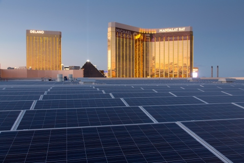 NRG Energy Solar Array at the Mandalay Bay Convention Center