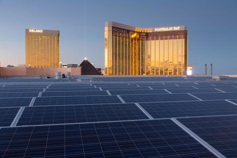 NRG Energy Solar Array at the Mandalay Bay Convention Center