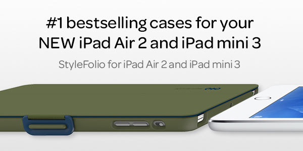 check out 7bc58 2955c Speck Announces iPad Cases Now Available for iPad Air 2 and iPad ...
