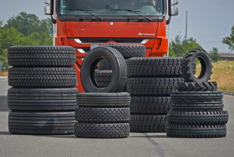 The tyre factor is decisive in a number of ways, when it comes to unrestricted mobility, especially for companies in the transport sector. (Photo: Business Wire)