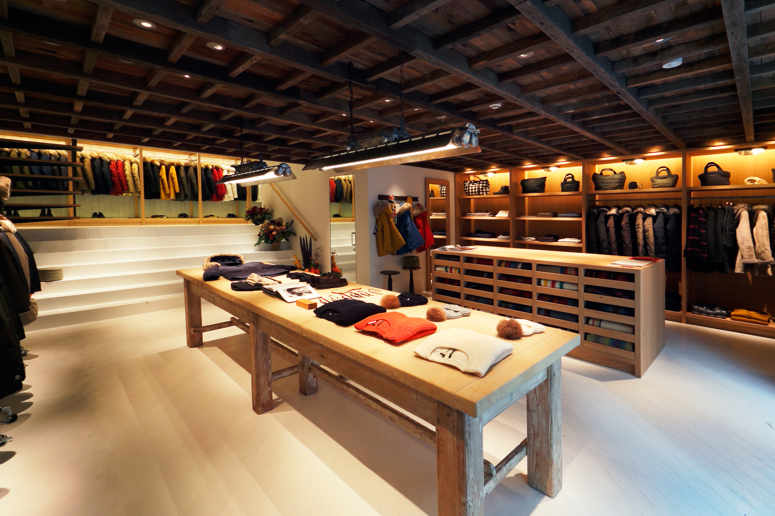 Woolrich John Rich Bros Opens First Flagship Store In
