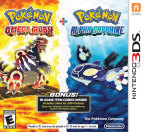 The Pokémon Omega Ruby and Pokémon Alpha Sapphire Dual Pack includes a pair of in-game download codes that can be redeemed for 100 Potions each. (Photo: Business Wire)