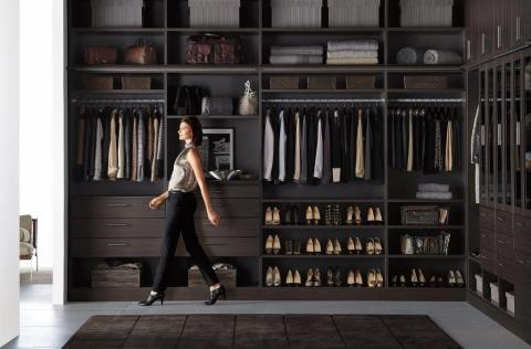 The Container Store today announced the pilot launch of its new closet line - TCS Closets - its new, exclusive collection of solid, custom-built closet solutions. (Photo: Business Wire)