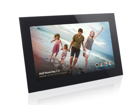 Fireside reinvented the digital photo frame, creating a dedicated family channel within the home. (P ...