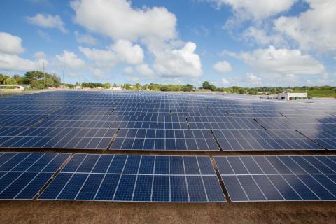 NRG Energy Spanish Town Estate Solar Facility, St. Croix USVI (Photo: Business Wire)
