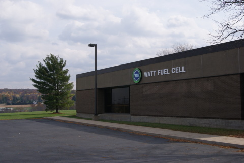 WATT Fuel Cell's new facility in Mt. Pleasant, Penn. (Photo: Business Wire)