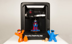MakerBot unveils the next installment of 3D printable models of favorite Sesame Street characters including Cookie Monster, Grover and Frazzle, available on the MakerBot Digital Store and in MakerBot Retail Stores in Boston, New York and Greenwich, Connecticut. (Photo: Business Wire)