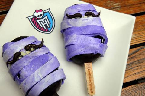 Monster High™ has partnered with Chef Dominique Ansel to create the Shocklette Monster, a one-of-a-kind treat just in time for Halloween. (Photo: Business Wire)