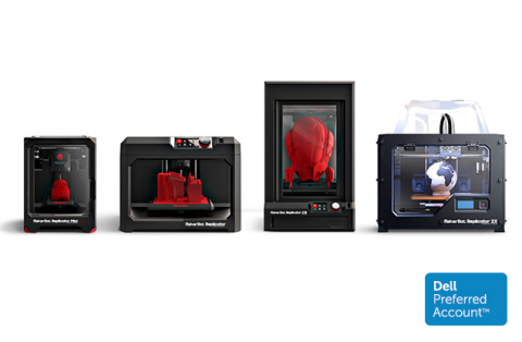 MakerBot partners with Dell and announces special financing on MakerBot Replicator 3D Printers on dell.com now through the holiday season. (Photo: Business Wire)