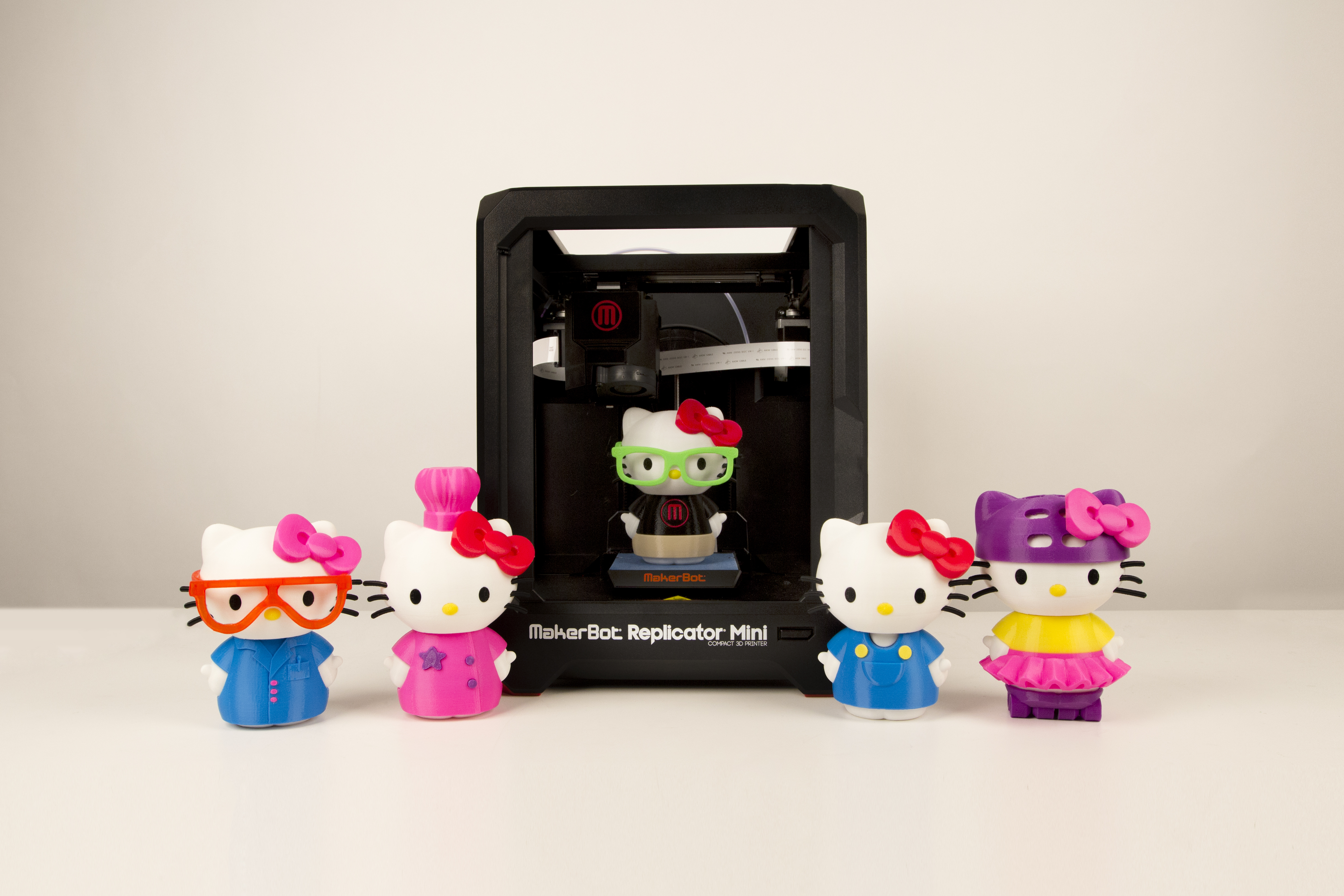 MakerBot and Sanrio Collaborate to Bring Hello Kitty Into the 3D