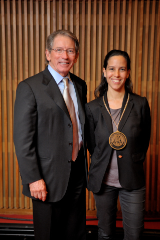 Tom Siebel and Jimena Canales (Photo: Business Wire)
