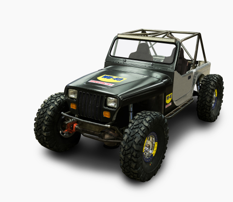 This custom 1990 Jeep Wrangler YJ, dubbed the WD-40(R) Specialist(R) Xtreme Machine, will debut at the S