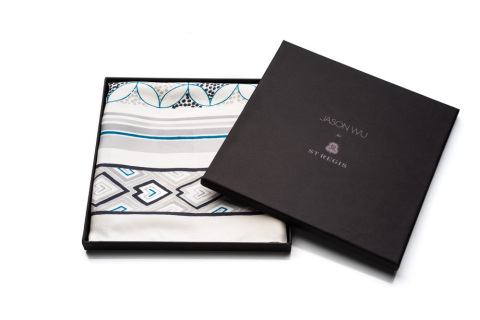 The Grand Tourista Scarf by Jason Wu for St. Regis Hotels & Resorts (Photo: Business Wire).