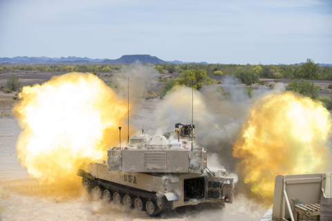 BAE Systems will produce additional M109A7 self-propelled howitzers and M992A3 ammunition carriers for the U.S. Army. (Photo: BAE Systems)