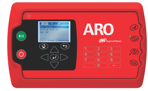 Ingersoll Rand's delivers on the promise of touch-and-walk-away automation with the new ARO® Controller. (Photo: Business Wire)