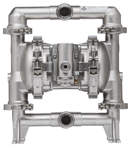Ingersoll Rand introduces new SD line of FDA-compliant diaphragm pumps from ARO®. Designed to pump and transfer materials for the food, beverage, pharmaceutical and cosmetics industries efficiently and safely. (Photo: Business Wire)