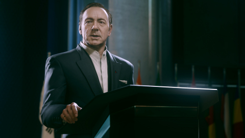 Call of Duty: Advanced Warfare Day Zero Edition, starring Academy Award winning Actor Kevin Spacey, is available worldwide today. (In-Game Screen provided by Activision Publishing, Inc.)