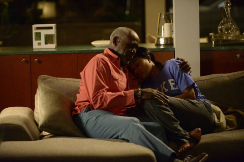 Gabrielle Union and Richard Roundtree from the hit dramatic series