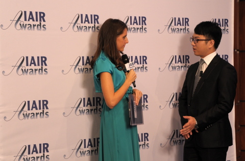 Mr. Levi Jiang, COO IMS FX interviewed by IAIR (Photo: Business Wire)