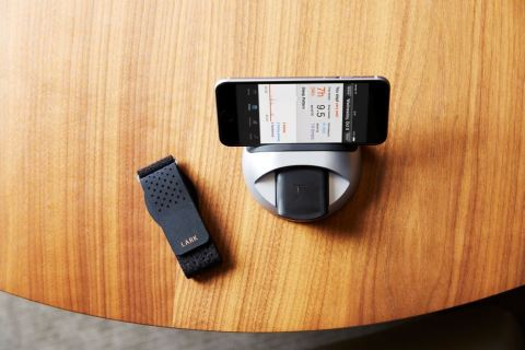 Available at participating Westin properties throughout November, guests can try the Lark Up Sleep Monitor, Silent Alarm Clock and Personal Sleep Coach for free during their stay. (Photo: Business Wire)