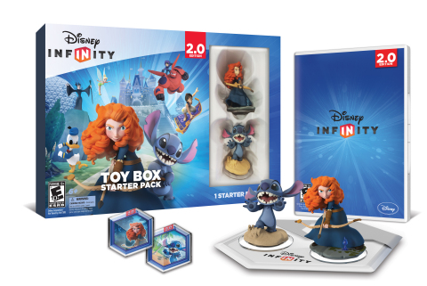 Disney Infinity: Toy Box Starter Pack launches today in retail stores nationwide. (Photo: Business Wire)