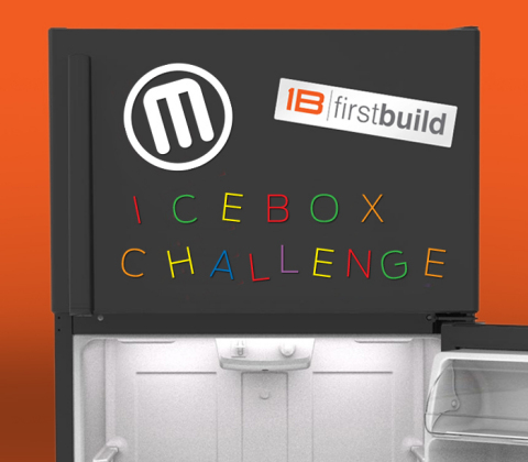 """MakerBot's Thingiverse and GE FirstBuild sponsor an """"Icebox Challenge"""" to come up with new 3D printable accessories for the refrigerator. Enter at https://firstbuild.com/tomas/icebox-challenge/ and also submit entries on http://www.thingiverse.com with the hashtag #IceboxChallenge"""
