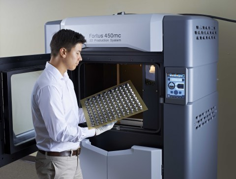 Ideal for companies that produce end-use parts via additive manufacturing, the Fortus 450mc delivers ...