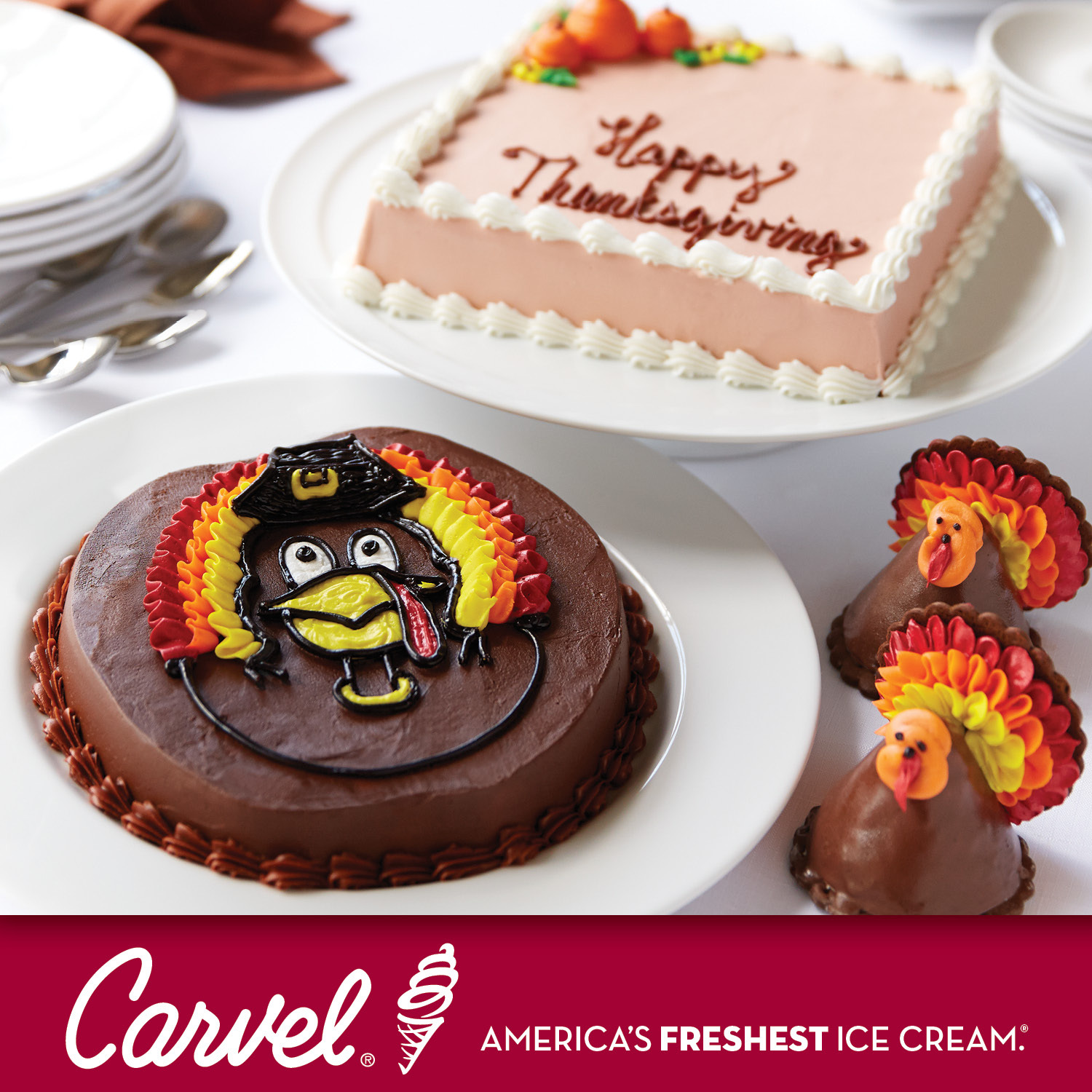 Carvel Brings Back Tom The Turkey Cake More Holiday Favorites For