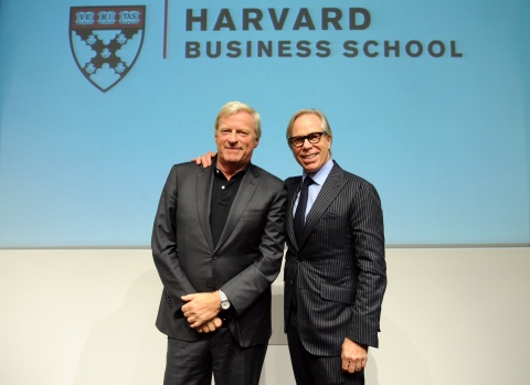 tommy hilfiger and fred gehring speak at harvard business school business wire. Black Bedroom Furniture Sets. Home Design Ideas
