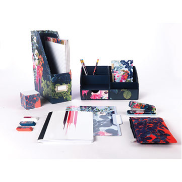Floral designs from the Cynthia Rowley Collection, available exclusively at Staples. (Photo: Busines ...