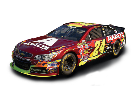 Axalta's Color of the Year, Radiant Red, Shines on No. 24 Axalta Chevrolet SS (Photo: Business Wire)