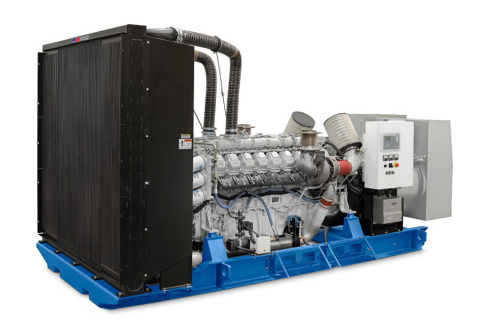 MTU Onsite Energy now offers a 1,250 kWe generator set powered by the newly-developed MTU 18V 2000 diesel engine. (Photo: Business Wire)
