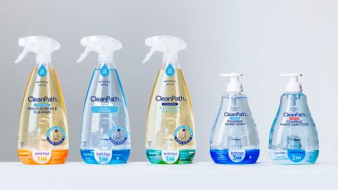 The CleanPath line of products saves money, time and waste. Available exclusively at Walmart. (Photo: Business Wire)
