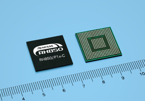 Renesas Electronics RH850/P1x-C Series of 32-bit automotive microcontrollers deliver functional safety, encryption, performance and communications for driver assistance systems that enable self-driving cars (Photo: Business Wire)