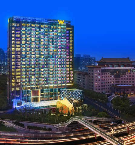 W Beijing - Chang'an Exterior (Photo: Business Wire)