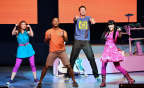 Nickelodeon's The Fresh Beat Band performing in their Fresh Beat Band Greatest Hits Live concert (Photo: Business Wire)
