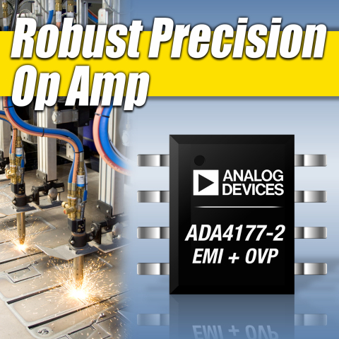 ADI Precision Op Amp Sets Industry Robustness Standard (Graphic: Business Wire)