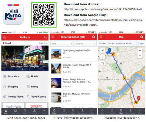 A must-have mobile application when travelling to Korea, 'Visit Korea' 4.0 has incorporated more features to meet the needs of mobility while traveling, which will help bring users closer to knowing Korea's charm. (Graphic: Business Wire)