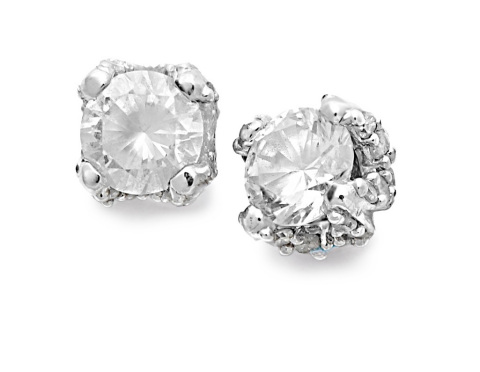 Macy's Black Friday Specials: 1/2 ct. t.w. Diamond Earrings in 14k White Gold, $169 (Photo: Business Wire)