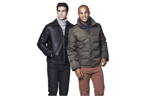 Macy's Black Friday Specials: Tommy Hilfiger Men's Down and Faux Leather Coats, $79.99 (Photo: Business Wire)