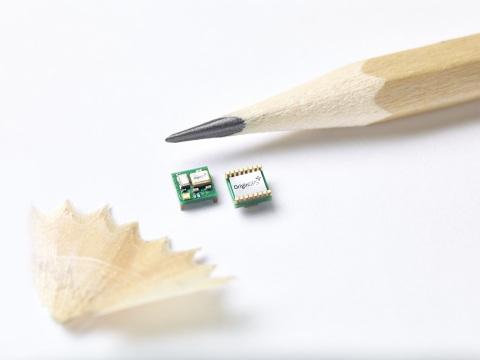 OriginGPS Launches World's Smallest GPS Module (Photo: Business Wire)