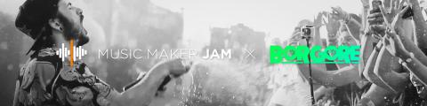 MAGIX:Nueva cooperación artística entre Borgore y Music Maker Jam (Graphic: Business Wire)