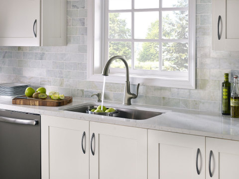 In the 2014 Dream Slate Kitchen Sweepstakes, Pfister(R) Faucets and GE Appliances give consumers the c