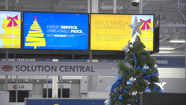 Best Buy has two rounds of doorbuster deals for customers starting at 5 p.m. on Thanksgiving and then again at 8 a.m. on Black Friday.