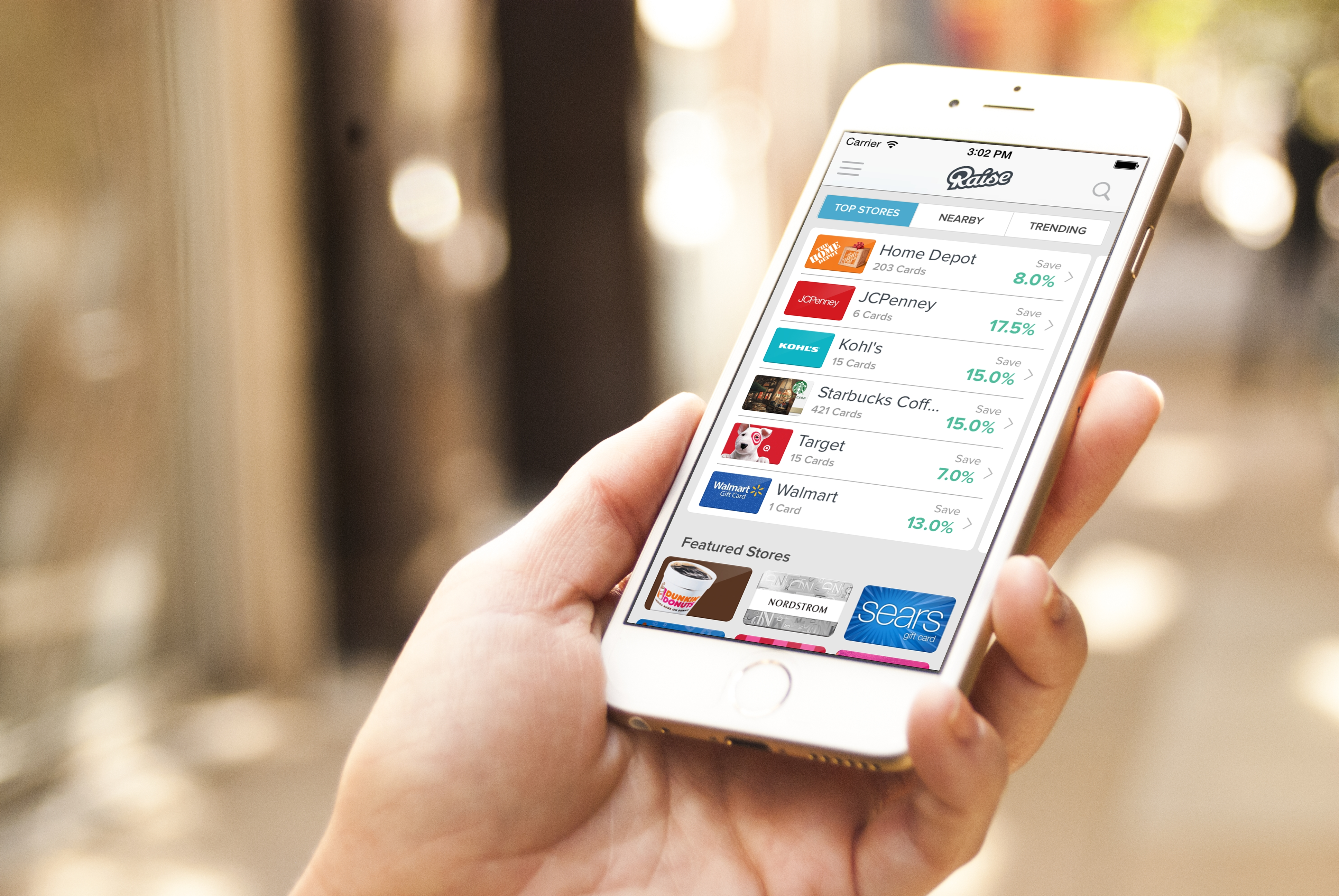 t card marketplace raise launches mobile app to