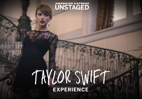 Screen Capture of American Express Unstaged Taylor Swift Blank Space Experience App (Photo: Business